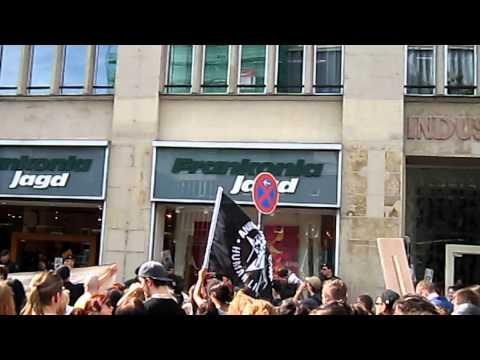 Köln pelzfrei-Demo köln