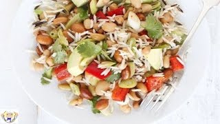 Mexican Rice And Bean Salad