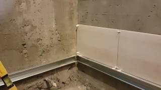 СТРОЙКА #1 - этапы укладки плитки в санузле и потолок из пластика Витязево - Анапа(, 2016-10-26T20:50:42.000Z)