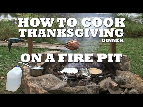How To Cook Thanksgiving Dinner On A Fire Pit