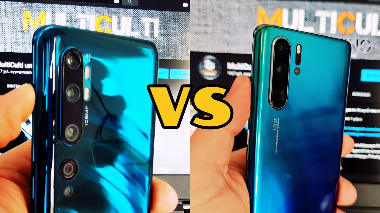 Xiaomi Mi Note 10 vs Huawei P30 Pro | Camera Test