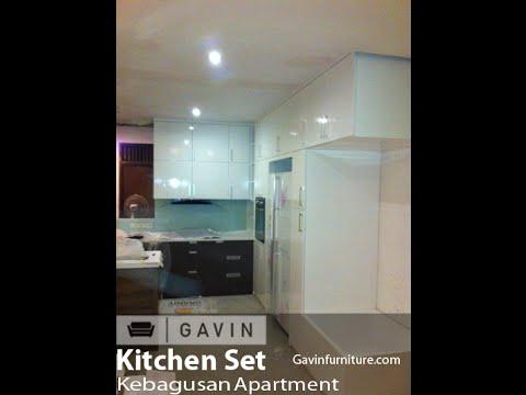 kitchen set minimalis jakarta selatan - Gavin furniture