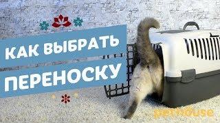 как выбрать переноску для кошки отзывы!