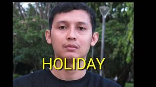 Holiday--NDX AKA FAMILIA(LIRIK)