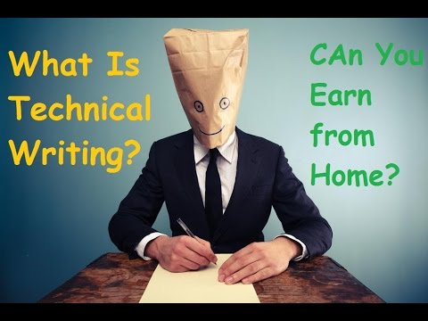 Learn What is Technical Writing and How you can Be a Technical Writer to Earn Money Online