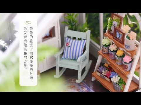 Miniature Wooden Doll House DIY Furniture