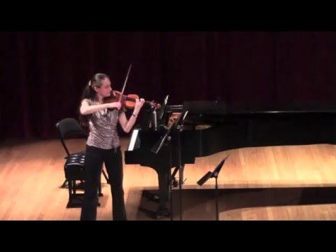 "Claudia Schaer plays ""Music for Violin Solo"" by Daria Semegen"