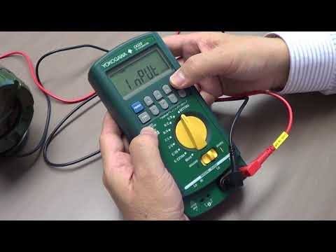 How to calibrate Temperature Transmitter using CA320 TC Calibrator and CA310 Volt mA Calibrator