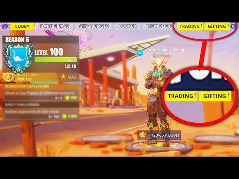 *NEW* SEASON 5 LEVEL 100 Features in Fortnite: Battle Royale! (NEW REWARDS)
