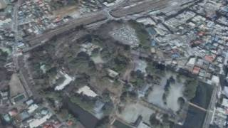 江戸時代の小田原を再現したCGファイルを映像で!