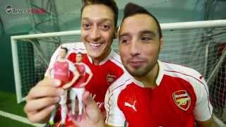 Download Video Ozil, Cazorla and Mertesacker react to Arsenal 3D models MP3 3GP MP4