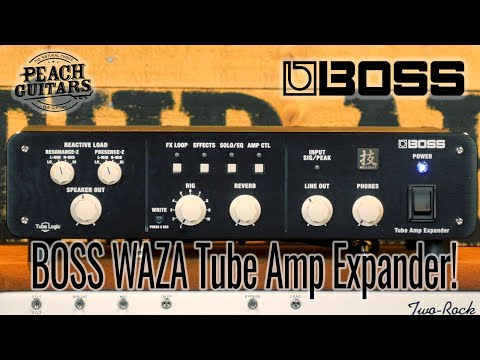First impressions of... the Boss Waza Tube Amp Expander.