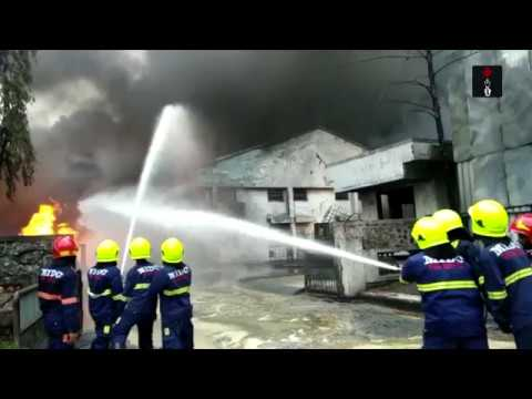 Major Fire Breaks Out at a Chemical Factory in Navi Mumbai