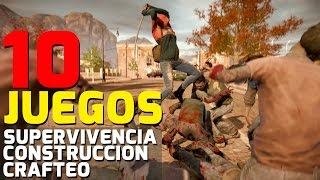 10 INCREIBLES JUEGOS 2016-2017 Crafteo | Supervivencia | Construnccion | PS4, XBOX ONE, PC