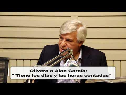 """Fernando Olivera a Alan García: """"Tiene los días y las hora contadas"""""""