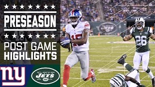 Giants vs. Jets | Post Game Highlights | NFL