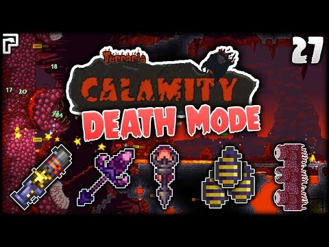 The DEATH Mode WALL OF FLESH! | Terraria Calamity Mod Death Mode Let's Play [Episode 27]