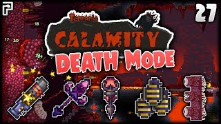 The DEATH Mode WALL OF FLESH!   Terraria Calamity Mod Death Mode Let