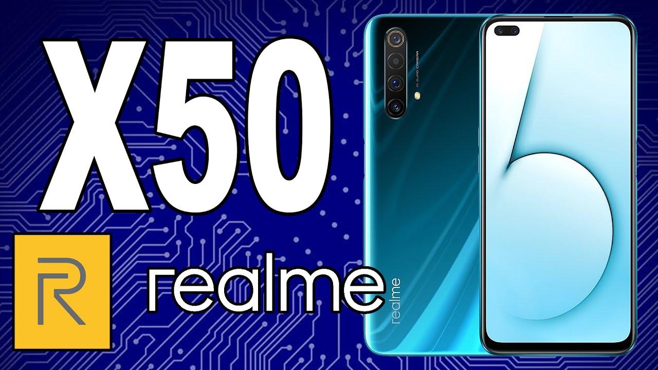 realme X50 5G - 120-герцовый дисплей, 12 ГБ ОЗУ и новый Snapdragon