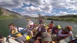 Yellowstone River Rafting 2015