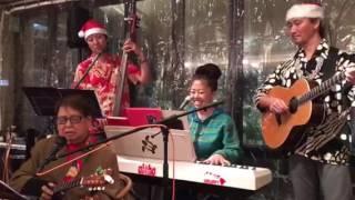 2016.12.14 高田馬場ウルスラさんにて ハワイアンライブ にお客で遊びに...