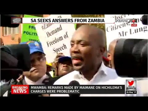 Mmusi Maimane speaks out after Zambia ordeal
