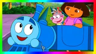 Dora and Friends The Explorer Cartoon 💖 Choo Choo Train Adventure Cartoon Video for Kids Gameplay !