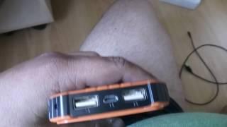 видео Пуско-зарядное устройство с солнечной панелью SITITEK SolarStarter 18 000