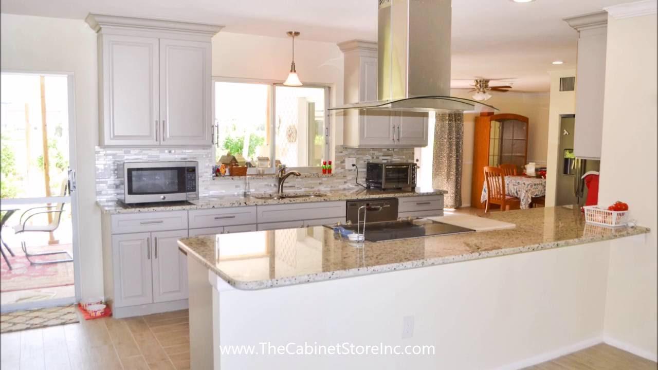 Galley Kitchen Transformation Youtube