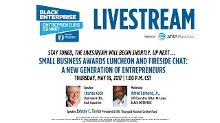 Small Business Awards Luncheon and Fireside Chat: A New Generation of Entrepreneurs