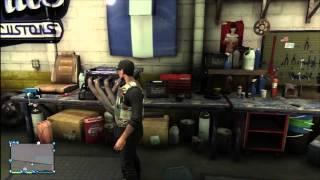 GTA V Online - Inside Los Santos Customs Glitch