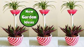 creative ideas/ planter ideas/plants arrangement
