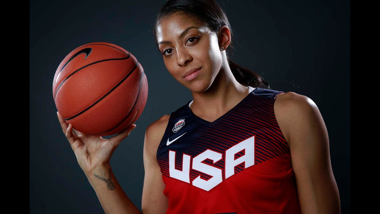 Candace Parker- being left of Olympic team, can she add ... Candace Parker