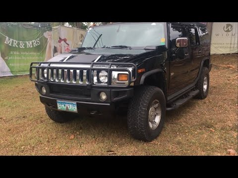 2003 Hummer H2 SUV 4x4 V8 Full Tour Review