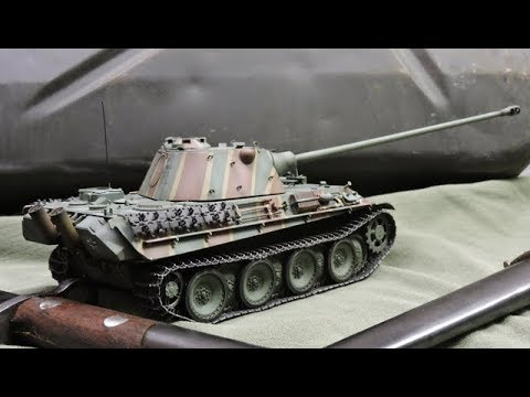 1 35th Scale Panther Ausf F Tank With Kwk42 L 100 Gun