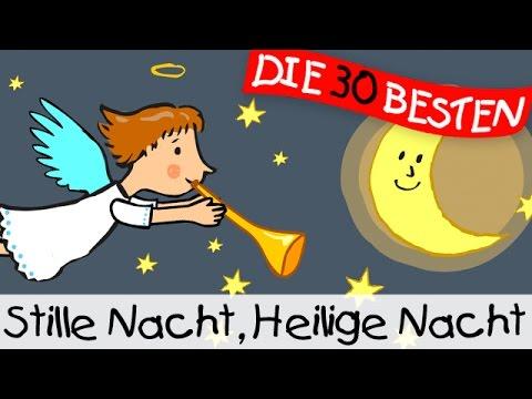 Stille Nacht heilige Nacht - Weihnachtslieder zum Mitsingen || Kinderlieder