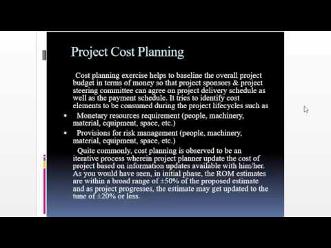 software project  management - project planning