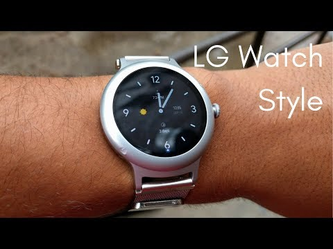 LG Watch Style: The Thinnest Android Wear Ever Made