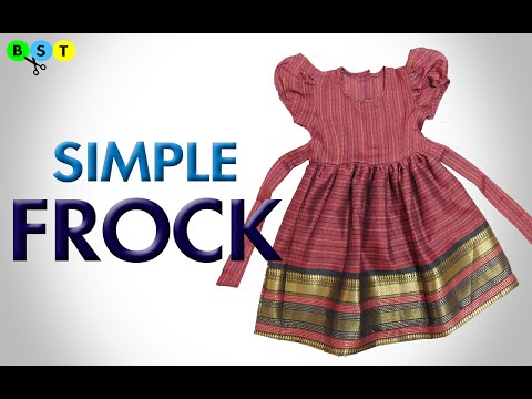 Simple Frock | Baby Frock | Cutting and Stitching | BST