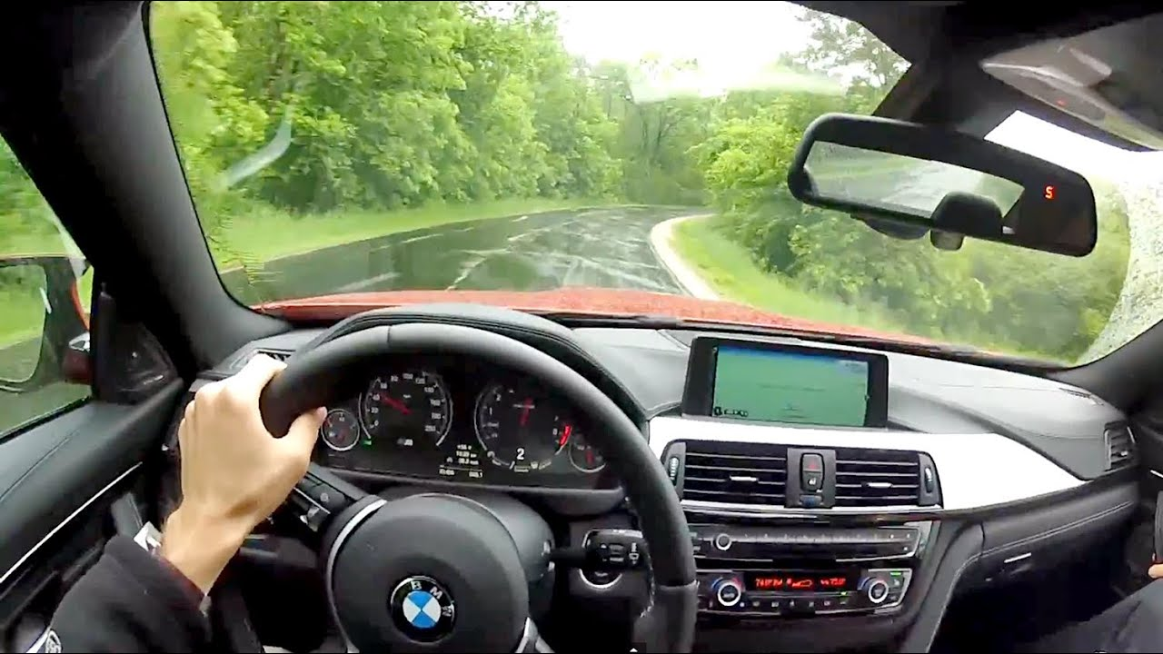 2015 BMW M4 Coupe Manual  WR TV POV Test Drive  YouTube