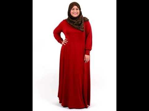 Model Baju Gamis Brokat Untuk Orang Gemuk