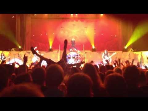 Iron Maiden Hamburg 06/19/13 End of Doctor Doctor and Moonchild