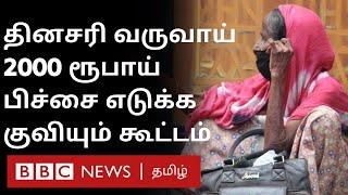 தினசரி வருவாய் 2000 ரூபாய்; பிச்சை எடுப்பதை தொழிலாக மாற்றிக் கொண்ட மனிதர்கள் | Beggars Colombo