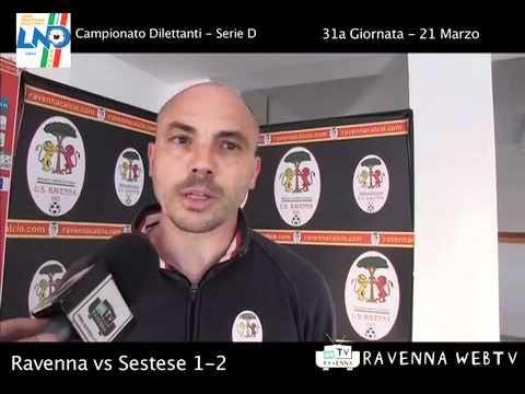 Calcio: Ravenna — Sestese 1 — 2 – Sport, 21/03/2012