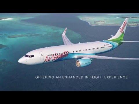 Air Vanuatu's new Boeing 737-800