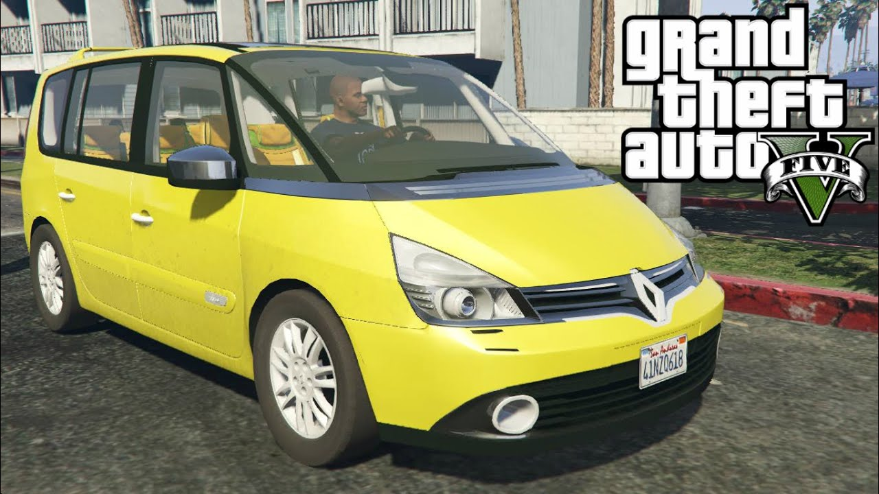 renault espace 4 ph gta v youtube. Black Bedroom Furniture Sets. Home Design Ideas