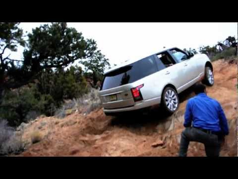 2013 range rover land rover off road drive test youtube. Black Bedroom Furniture Sets. Home Design Ideas