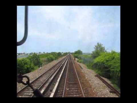 New York City Subway Crossing the Jamaica Bay Part 1