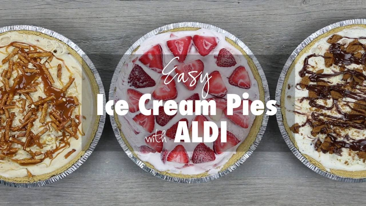 How To Make Your Own Ice Cream Pie Aldi Youtube
