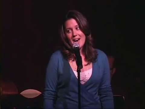 Kate Luckinbill Conner Singing at Birdland Jazz. 2007